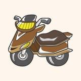 Transportation motor theme elements vector, eps Royalty Free Stock Photos
