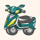 Transportation motor theme elements vector, eps Stock Photography