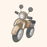 Transportation motor theme elements vector, eps Stock Photo