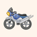 Transportation motor theme elements vector, eps Stock Image