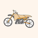 Transportation motor theme elements vector, eps Royalty Free Stock Image