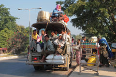Transportation in Myanmar Stock Image