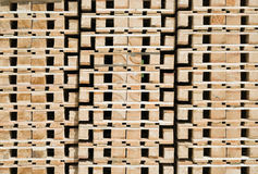Transportation Pallets Stock Image