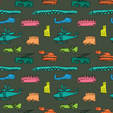 Transportation pattern Stock Photo