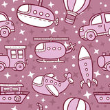 Transportation pattern . Stock Image