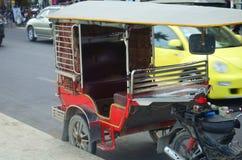 Transportation in Phnom Penh. Tuk tuk Cambodia. Transportation in Phnom Penh, Cambodia Stock Images