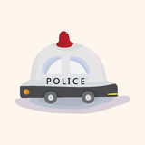 Transportation police car theme elements vector,eps Stock Image