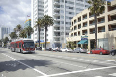 Transportation in Santa Monica California Royalty Free Stock Image