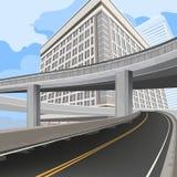Transportation scene Stock Photo
