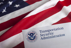 Transportation Security Administration Form Royalty Free Stock Photos