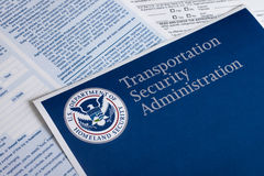 Transportation Security Administration Form Stock Images