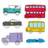 Transportation series Royalty Free Stock Photos
