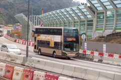 Transportation Services in Hong Kong Royalty Free Stock Image