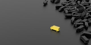 Transportation and shipping. Conceptual image stock photography