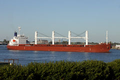 Transportation: Shipping on the Mississippi River Royalty Free Stock Photography