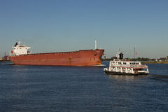 Transportation: Shipping on the Mississippi River Stock Photos