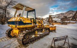 Transportation Snow Plow Plough Photo royalty free stock image