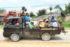 Transportation in Sorong Royalty Free Stock Image