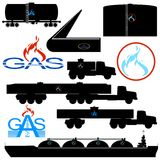 Transportation and storage of natural gas Royalty Free Stock Photo