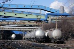Transportation tanks Royalty Free Stock Image