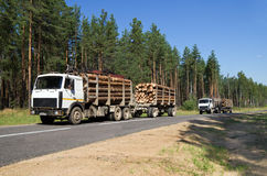 Transportation timber royalty free stock photo
