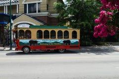 Transportation for tourists in Gatlinburg Royalty Free Stock Image