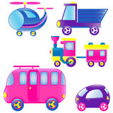 Transportation toys Royalty Free Stock Photo