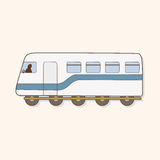 Transportation train theme elements vector,eps Stock Photography