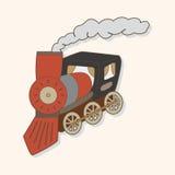 Transportation train theme elements vector,eps. Vector illustration file Royalty Free Stock Image