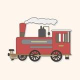 Transportation train theme elements vector,eps. Vector illustration file Stock Photography