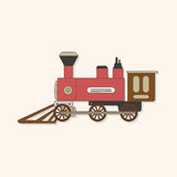 Transportation train theme elements vector,eps. Vector illustration file Stock Photos