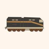 Transportation train theme elements vector,eps Stock Image