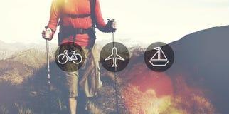 Transportation Transport Icon Travel Journay Trip Concept Stock Photo