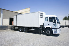 Transportation truck Royalty Free Stock Photos