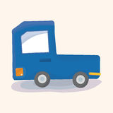 Transportation truck theme elements vector,eps Royalty Free Stock Image