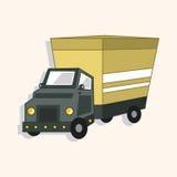 Transportation truck theme elements vector,eps. Vector illustration file Stock Photography