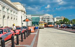 Transportation union station Washington DC Royalty Free Stock Photos