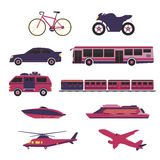Transportation Vector and Icon Stock Image