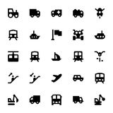 Transportation Vector Icons 3 Stock Images