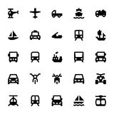 Transportation Vector Icons 1 Royalty Free Stock Photo