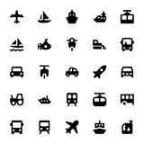 Transportation Vector Icons 2 Royalty Free Stock Images