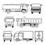 Transportation Vehicle Collection Stock Images