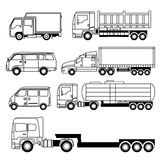 Transportation Vehicle Collection Royalty Free Stock Photos