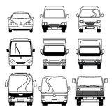 Transportation Vehicle Collection Royalty Free Stock Images