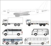 Transportation vehicle isolate Stock Photography