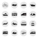 Transportation and Vehicles icons. Set Stock Photography