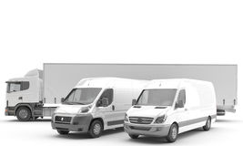 Transportation. Vehicles for the transport of goods Royalty Free Stock Photo