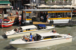 Transportation in Venice stock images