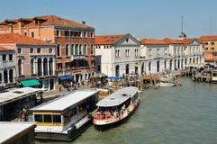 Transportation in Venice stock photo