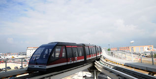 Transportation in Venice - people mover Royalty Free Stock Photography